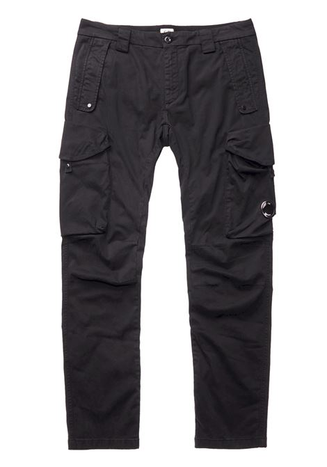 Garment Dyed Sateen Lens Cargo Pants C.P. COMPANY | Trousers | 07CMPA181A005529G999