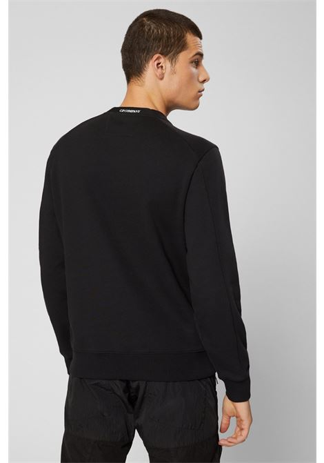 FLEECE SWEATSHIRT WITH LENS C.P. COMPANY | Sweatshirt | 07CMSS082A005086W999