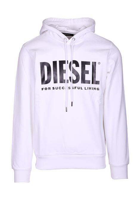 hooded sweatshirt s-gir-hood-division DIESEL | Sweatshirt | 00SAQJ0BAWT100