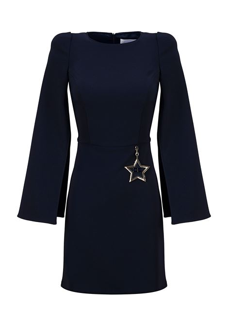Mini dress with slits on sleeves ELISABETTA FRANCHI | Dresses | AB90096E2805
