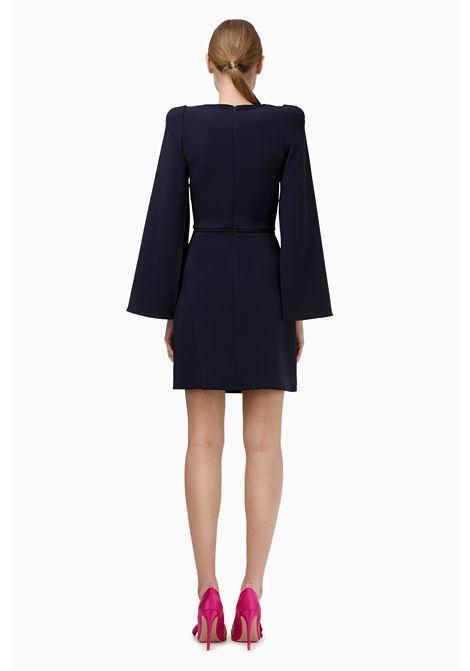 Mini abito con spacchi su maniche ELISABETTA FRANCHI | Abiti | AB90096E2805