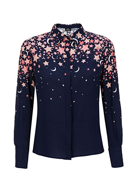 Degraded print shirt ELISABETTA FRANCHI | Shirts | CA21796E2805