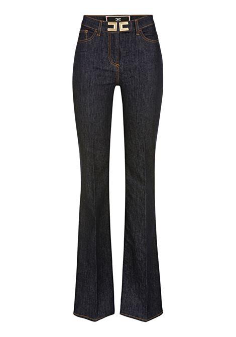Jeans con logo ELISABETTA FRANCHI | Pantaloni | PJ32D96E2104