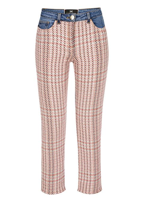 Jeans with cotton insert ELISABETTA FRANCHI | Trousers | PJ40D96E2Z79