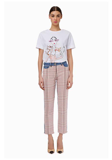 Jeans with cotton insert ELISABETTA FRANCHI | Trousers | PJ40D96E2Z79
