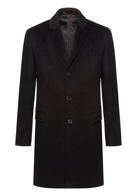 Slim-fit coat in pure cashmere with signature stitching HUGO | Coat | 50416289001