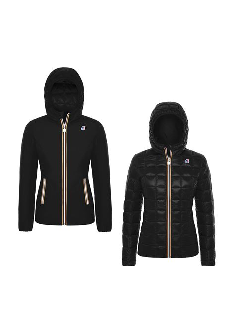 LILY THERMO KRINKLE DOUBLE JACKET K-WAY | Jackets | K00A3M0902