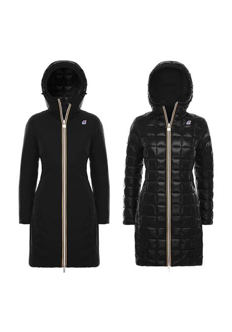 CHARLENE THERMO KRINKLE DOUBLE JACKET K-WAY | Jackets | K00A3N0902