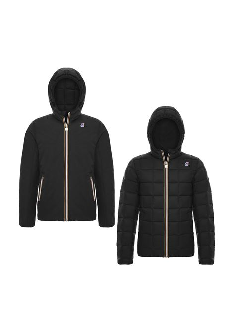 JACQUES THERMO WAX DOUBLE JACKET K-WAY | Jackets | K00A4J0902