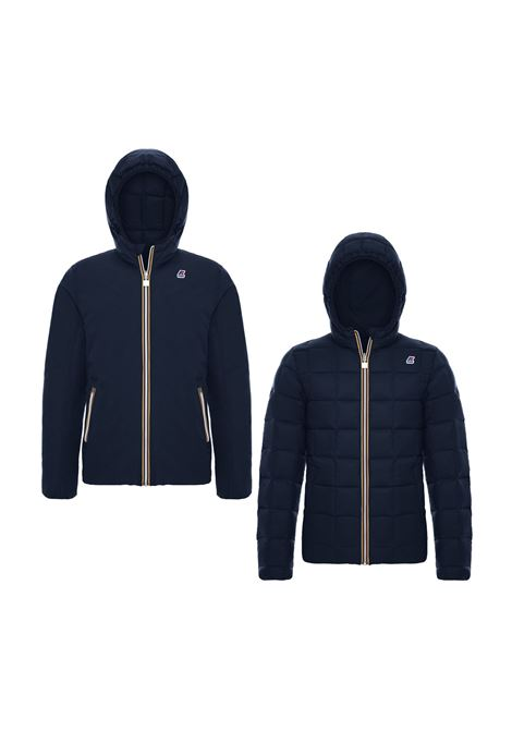 JACQUES THERMO WAX DOUBLE JACKET K-WAY | Jackets | K00A4J0905