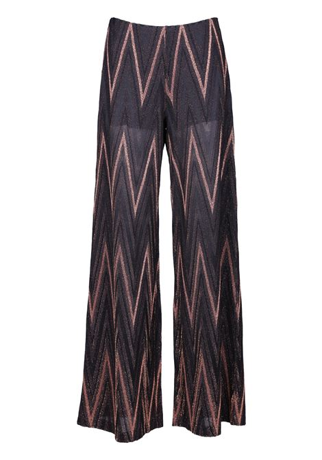 PALACE PANTS WITH ZIGZAG REASON M MISSONI | Trousers | 2DI000632J000WL800A