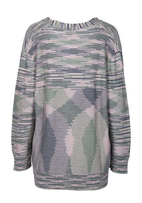 MULTICOLOR PATTERNED CARDIGAN M MISSONI | Knitwear | 2DM000562K002UF600N