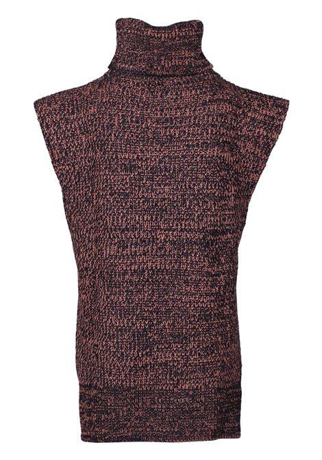 HIGH NECK SLEEVELESS SWEATER M MISSONI | Knitwear | 2DN000862K001ES903E
