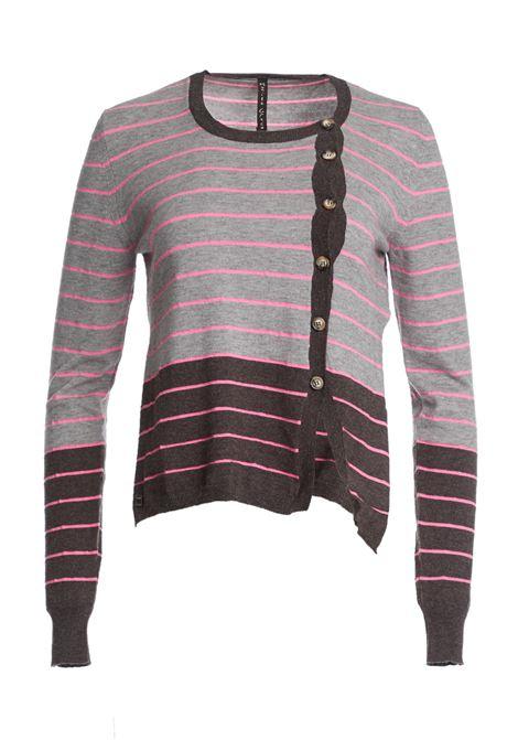 BICOLOR CARDIGAN MANILA GRACE | Knitwear | M113WIMD703