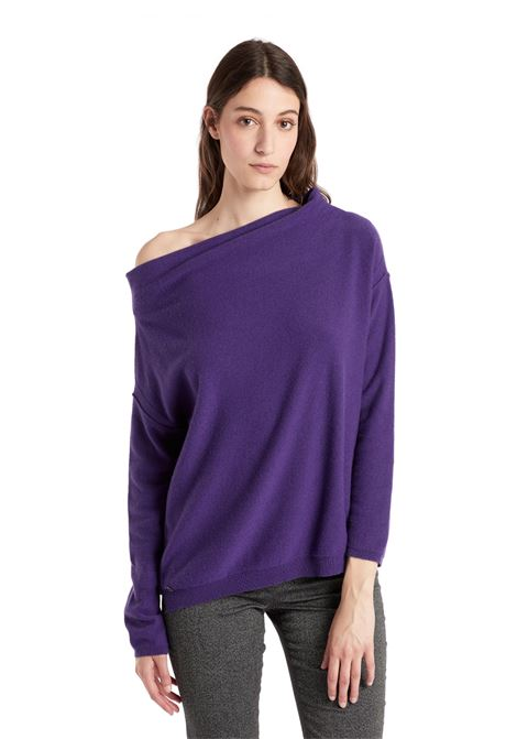 UNCOVERED SHOULDER SWEATER MANILA GRACE | Knitwear | M220WUMD688