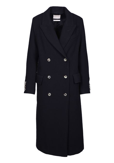 LONG DOUBLE-BREASTED COAT MOMONI | Overcoat | MOC00060990