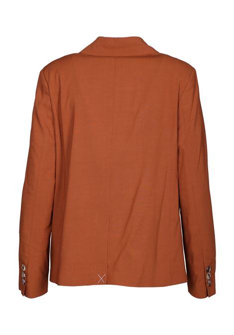 Double breasted stretch wool jacket MOMONI | Blazers | MOJA0030618