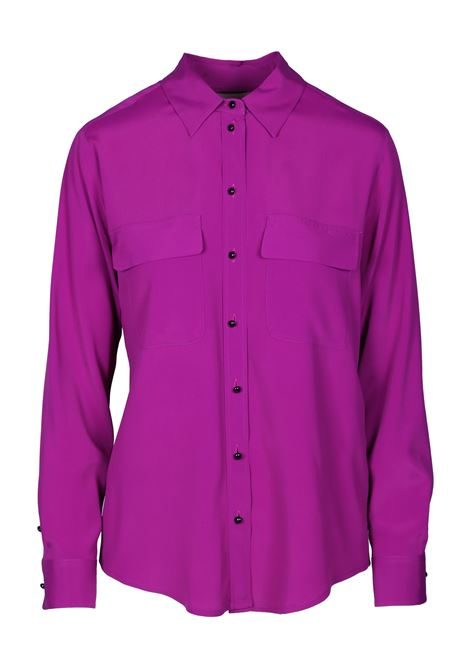 SILK SHIRT WITH POCKETS MOMONI | Shirts | MOSH0060455