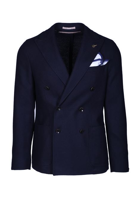 DOUBLE-BREASTED BLAZER WITH PEAK LAPELS PAOLONI | Blazers | 2711G537 19157689