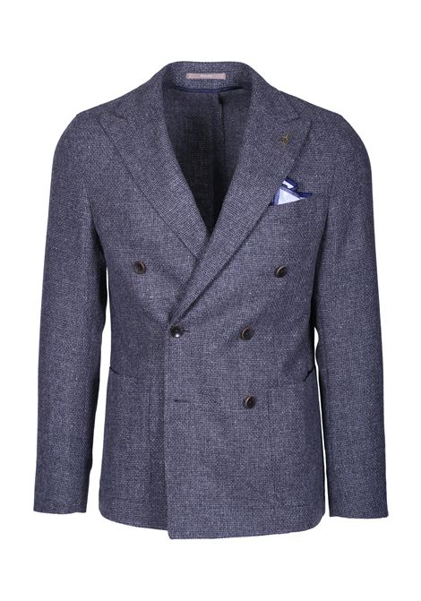 DOUBLE-BREASTED BLAZER WITH PEAK LAPELS PAOLONI | Blazers | 2711G537 19157697