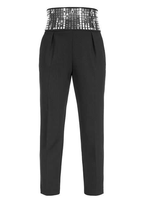 TROUSERS WITH MIRRORS PINKO | Trousers | 1B148C7210Z99