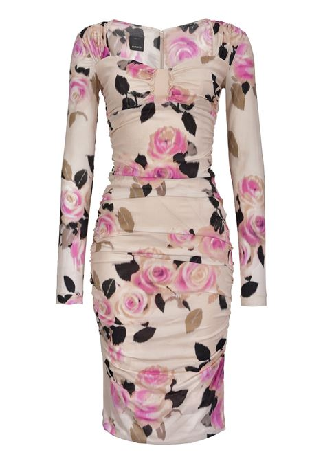 CHINÉ FLORAL PRINT GEORGETTE DRESS PINKO | Dresses | 1G14BN7670NY9