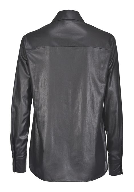 LAMINATED GEORGETTE SHIRT PINKO | Shirts | 1G14J97673Z99