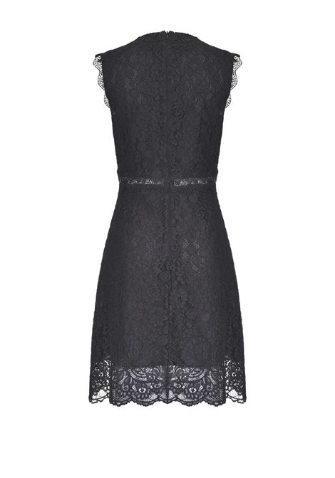 DRESS IN LACE WITH FLOWERS PINKO | Dresses | 1G14JH7623ZZ2