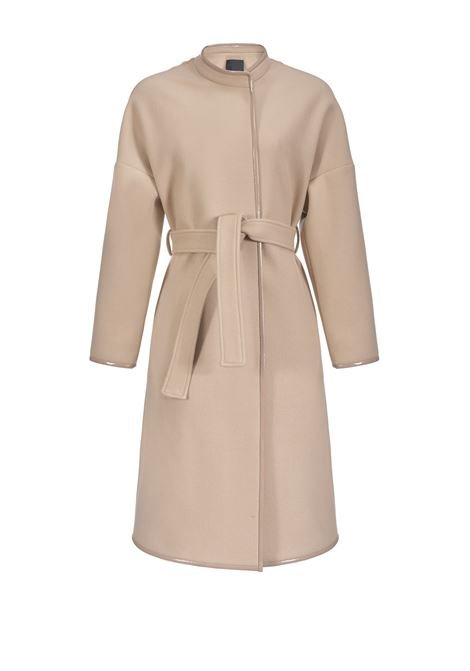 COAT WITH CONTRAST PROFILES PINKO | Coat | 1G14JJ7507Q10