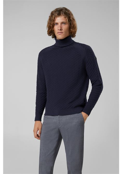 KNIT BASKET TURTLE NECK RRD | Knitwear | W1914060