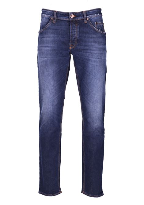 5 pocket jeans with rivets SIVIGLIA | Trousers | 26I2S4866003