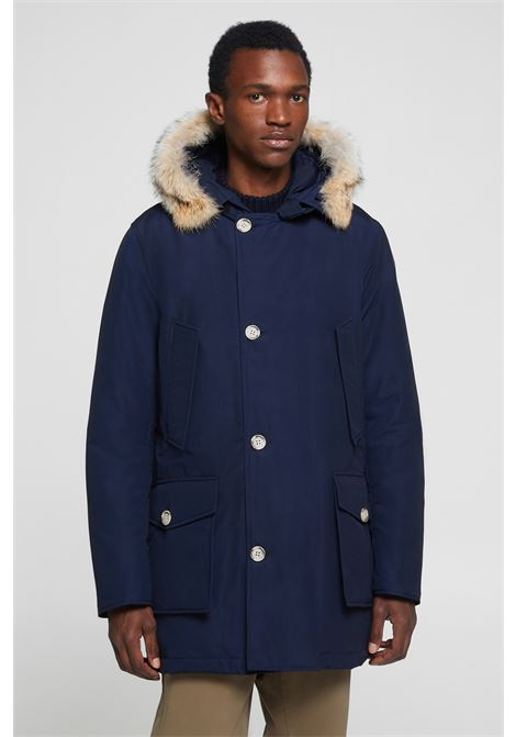 Men's Detachable Fur Arctic Parka WOOLRICH | Overcoat | WOCPS2880UT0108MLB