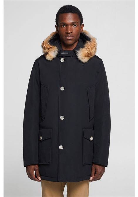 Men's Detachable Fur Arctic Parka WOOLRICH | Overcoat | WOCPS2880UT0108NBL