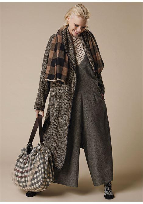 Tuta in misto lana con bretelline ALESSIA SANTI | Tute | 25017029031-01