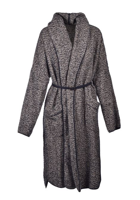 Shawl coat with belt ALESSIA SANTI | Coat | 35041029115-01