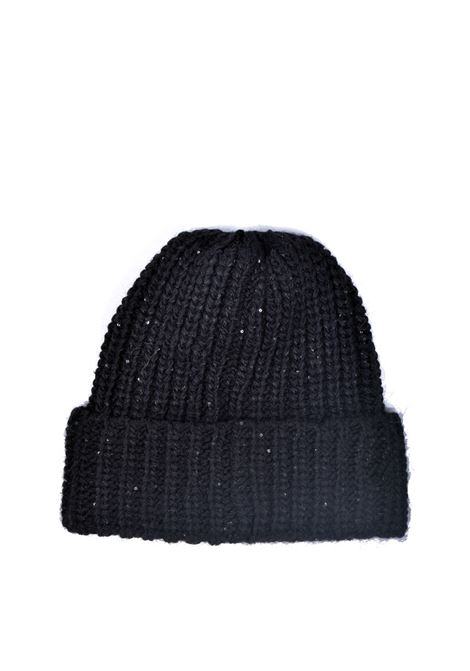 Beanie hat with small sequins ALESSIA SANTI | Hats | 93037S3000