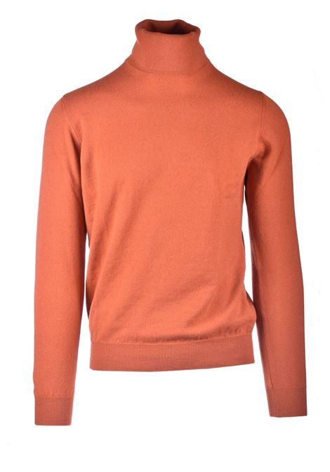 Cachmere paprika blend turtleneck ALPHA STUDIO | Knitwear | AU 3201/G9090