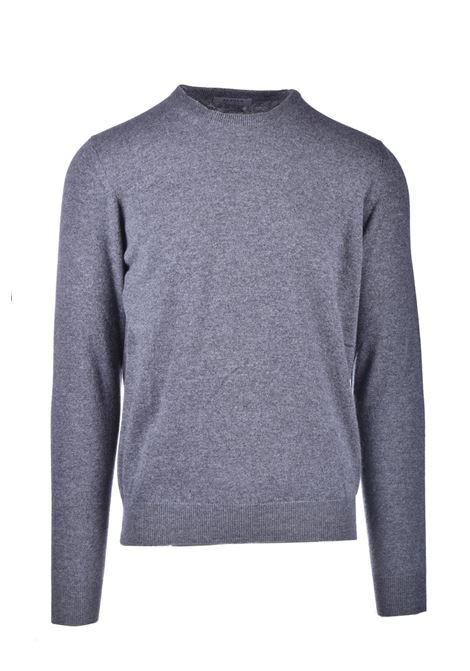 Choker in pure gray worsted cashmere ALPHA STUDIO | Knitwear | AU 3310/C9226