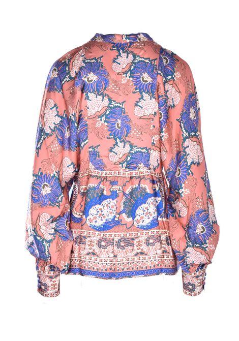 Multicolor Abbye blouse ANTIK BATIK | Blouse | ABBYE1BLOMULTICOLOR
