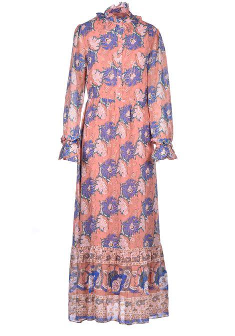 Long dress with floral print ANTIK BATIK | Dresses | ABBYE1LDRMULTICOLOR