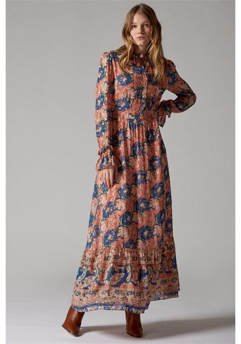 Vestito lungo con stampa floreale ANTIK BATIK | Vestiti | ABBYE1LDRMULTICOLOR