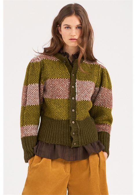 Woven alpaca cardigan ANTIK BATIK | Knitwear | ARTHUR1CARFOREST