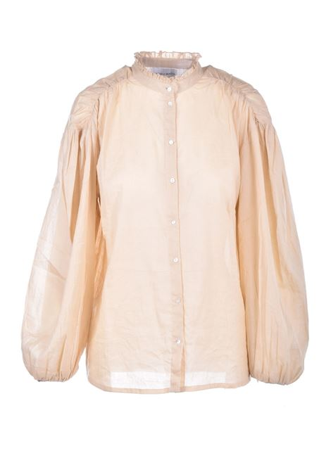 Blusa in voile di cotone crema ANTIK BATIK   Bluse   LALA1BLOSAND