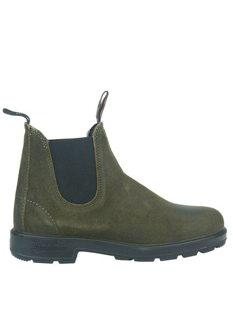1615 ankle boot in dark olive waxed suede brown BLUNDSTONE | Ankle boots | 1615 BC1615