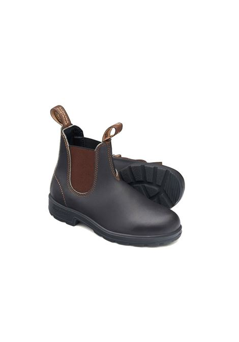 Chelsea boot in stout brown leather BLUNDSTONE | Ankle boots | 500 BC500