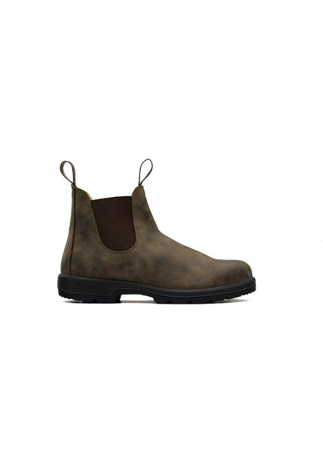 Crazy Horse brown leather Chelsea boot BLUNDSTONE | Shoes | 585 BC585