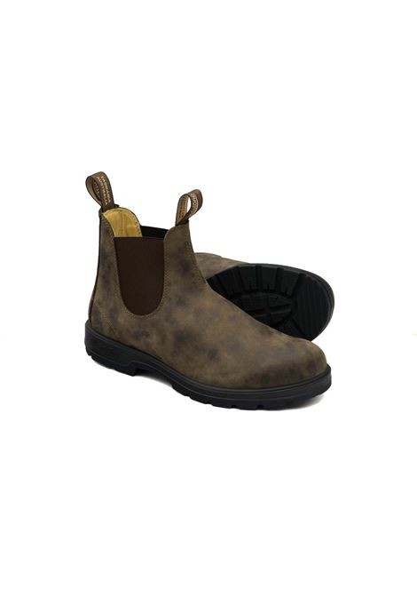 Crazy Horse brown leather Chelsea boot BLUNDSTONE | Ankle boots | 585 BC585