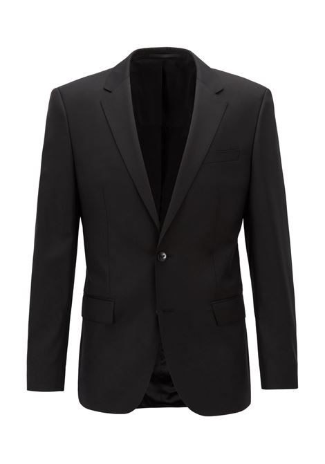 Slim-fit jacket hayes - black BOSS | Blazers | 50318498001