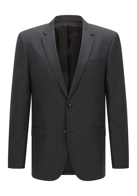 Slim-fit jacket hayes - dark grey BOSS | Blazers | 50318498021