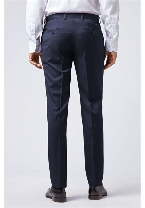 Pantaloni classici slim fit in pura lana vergine BOSS   Pantaloni   50318499C401